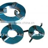 light hand chuck,lathe chuck,welding positioner chuck,3 jaw chuck,three jaw chuck,pipe chuck