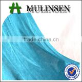 Shining fabric for clothing, interlock solid dyed stocklot fabric in china