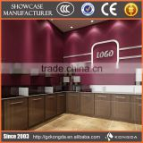 Wholesale custom glass dome display,wooden optical store showcase