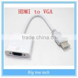 PS3 DVD PC Laptop Tablet Full HD 1080P HDTV Male to Female HDMI to VGA Adapter Converter HDMI Cable J213
