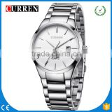 CURREN/CW026 Curren Brand 4 Colors quartz chronograph Curren Business Men Military Auto Date Display Stainless Steel Analog
