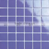 300x300 sheet size wear resisting swimming pool glazed ceramic mosaic tile with factory wholesale supply
