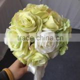 LATEST ARRIVAL Artificial Flowers Fine Design best selling bridal rhinestone brooch