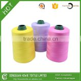 Super tenacity 100% core cotton spun polyester sewing thread for industrial sewing machine