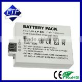 High capacity 7.4V 1500mAh Digital Camera Li-ion Battery LP-E5 for Canon EOS 450D 500D 2000D