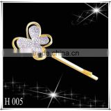 The newest butterfly shape 18K Gold Hairpin