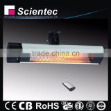 Scientec AH18CCR CE/GS Approval 1800W Carbon Fiber Far-infrared Electric Heater Manufacture