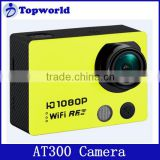 WiFi Version AT300 Action Camera Remote Control Diving 50M Waterproof Sport Camera 1080P Full HD Car DVRs