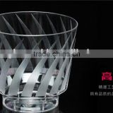 fashion design 4 cavities aviation thin thickness cup mould maker/thin wall aviation cup mould