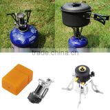 Portable Folding Mini Camping Survival Cooking Furnace Stove Gas Outdoor Brand New