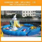 The shark amusement park games equipment,kids outdoor games equipment for sale