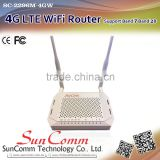 SC-2296M-4GW Latest 4G LTE Wireless Wifi Router with Band 7, Band 28 ,one external antenna and one internal antenna