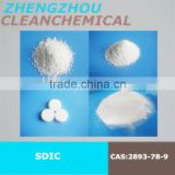 Superior China made sodium dichloroisocyanurate dihydrate powder and flakes , granule and customized big and small tablet