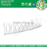 effective anti bird product metal bird spikes with pe base 50cm pest control pc bird spikes