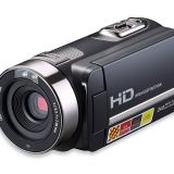 portable1080p HD video camera 301STR with touch screen and IR night vision
