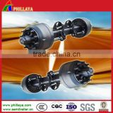 Different model of BPW axle for trailer, 13T 16T 20T available