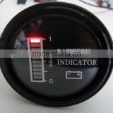 LED display battery status indicator for solar panel,forklife,golf car