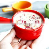 Mini ceramic bowl with handle mini porcelain bowl with handle