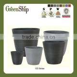 Decorative Garden Terracotta Pots Wholesale for outdoor/ 20 years lifetime/ lightweight/ UV protection/ eco-friendly