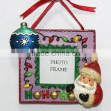 Christmas Santa Mini Light Ball Decoration Photo Frame Ornaments