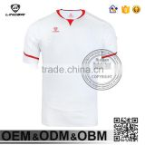 Wholesale Easy Dry Fitness Sport Man White Blank Tshirt No Label