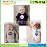 Infant Jumpsuits New Born Clothing Summer Baby Gift Set Plain Baby Rompers short sleeve funny baby romper