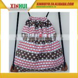 buy wholesale direct from china polyester draw string bag with plastic button