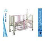 Luxury Manual Children Pediatric Hospital Bed Single Functions With Back Rest