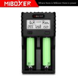 Miboxer C2-3000 18650 Battery Charger 4.2V Battery Charger for 18650 AA AAA