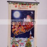 Cheap customized 3D christmas pvc hanging sticker