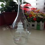 hand blown glass bottle embed sailing boat white spirit bottle