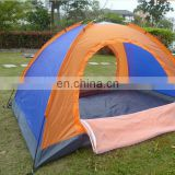 Cheap price small camping round fiberglass 2 people sibley tent