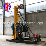 Hot sale  KQZ-180D wheeled water well drilling rig pneumatic borehole drilling rig for price