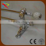 Popular design India market hot sale curtain rod/curtain pipe set                                                                         Quality Choice