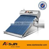 1Stainless steel solar water heater stainless steel compact low pressure solar hot water heater system