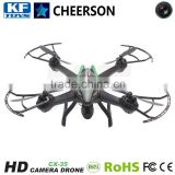 Cheerson CX-35 4 Channels 6 Axis Gyro Auto Hover RC drone professional with 720p HD Camera