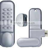 OSPON Mechanical Keyless single door glass door lock Stain chrome wholesale OS3319R right handle