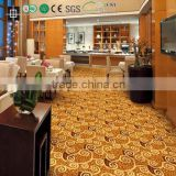 Pattern Design Red Color Carpet Wilton Machine Made Carpet