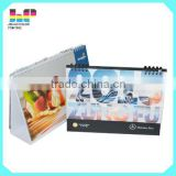 China cheap printable paper desk table calendar printing                                                                                                         Supplier's Choice