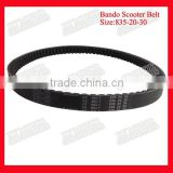 China Supplier Motorcycla Spare Parts 835-20-30 Chinese Scooter Belt Different types Drive Belts