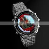 WM005-ESS Brand New mens man analog digital alarm best military watch 2014
