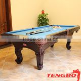 Solid wood pool table billard table indoor snooker table for sale