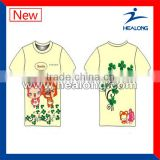 new wholesale short sleeve round neck t-shirt manufacturer