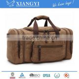 fashion bag,Oversized Canvas Travel Tote Luggage Weekend Duffel Bag Luggage Sporty Gear Bag,new design in 2016