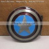 custom brand name buckle plate metal belt buckle ladies gold plate fashional metal belt buckle