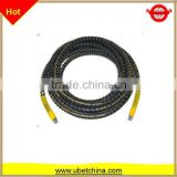 "DN 6 SAE100 R1AT 1/4"" with nylon surface and sleeve hydraulic high pressure wire braided rubber hose"