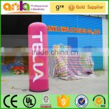 New year stage decoration lightpillar row type inflatable led column / lightpillar ( solar led, portable, ANKA)