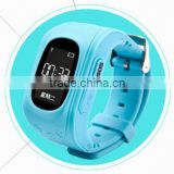 Brand New Model Q50 Bluetooth GSM GPS Watch Security Children Kids With SOS Button 2 Way Talk Phone Call GPS Tracker Kids