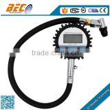 Beco YTDS-60C pressure holding type digital tire air pressure gauge with PVC hose for RV, Truck, Car                                                                                                         Supplier's Choice