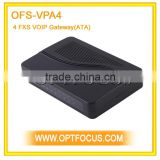 4 fxs port voip analog telephone adapter